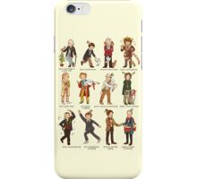 The Twelve Doctors of Christmas iPhone Case/Skin