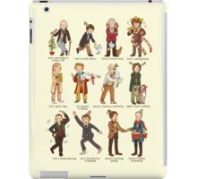 The Twelve Doctors of Christmas iPad Case/Skin