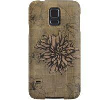 Rustic Flowers Samsung Galaxy Case/Skin