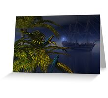 Offshore Visitor Greeting Card