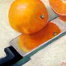 Oranges and Knife by Joyce