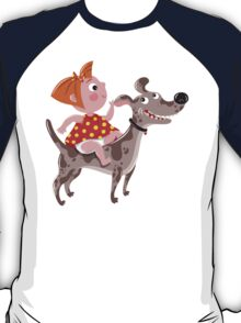 Dog Riding Academy T-Shirt