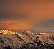Lone Peak Wilderness from the Valley by Ryan Houston