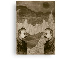 Nietzsche, Meet Nietzsche (In the Black Forest) Canvas Print