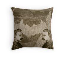 Nietzsche, Meet Nietzsche (In the Black Forest) Throw Pillow