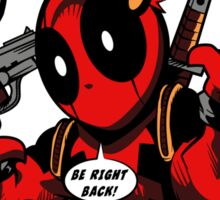 BANG! DEADPOOL! Sticker
