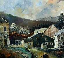 redu village belgium by calimero