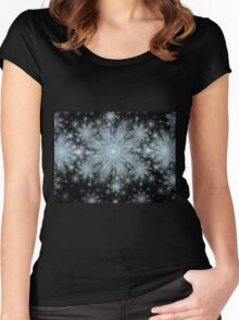 Flurries Women's Fitted Scoop T-Shirt