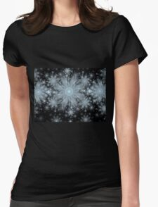 Flurries Womens Fitted T-Shirt