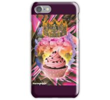 QUEEN CUPCAKE iPhone Case/Skin