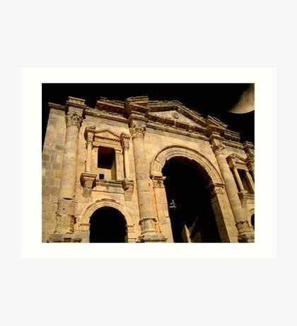 Hadrian's Arch Art Print