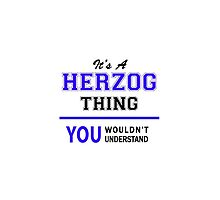 It's a HERZOG thing, you wouldn't understand !! by thenamer