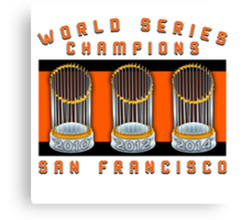 World Series Champions  Canvas Print