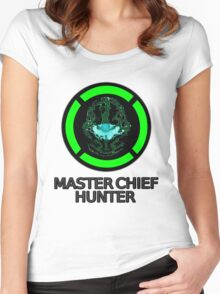 Master Chief Hunter - Achievement Hunter & Halo Mix Women's Fitted Scoop T-Shirt