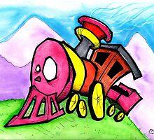 Linkin's Train by Matt Booth