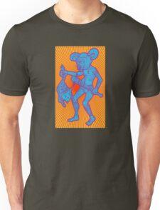 Killer Mouse Mascot (Sunburst Bizarro Variant) Unisex T-Shirt