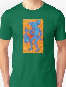 Killer Mouse Mascot (Sunburst Bizarro Variant) T-Shirt