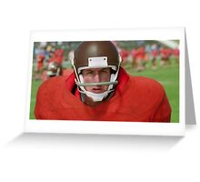 The waterboy Greeting Card