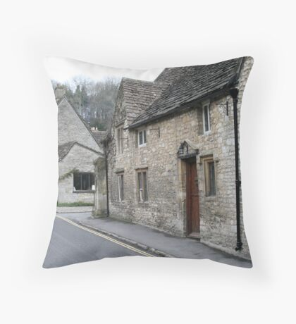 the rectory  Throw Pillow