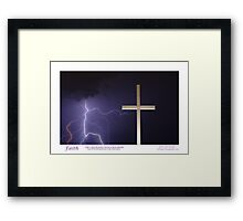 """Faith"" Framed Print"