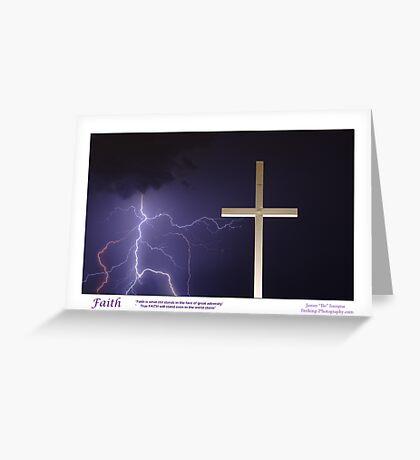 """""""Faith"""" Greeting Card"""