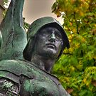 Mercury Statue HDR... by John Gilluley