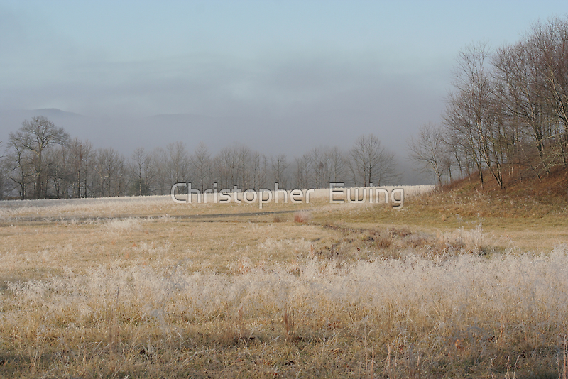 pastel colors of winter by Christopher  Ewing