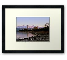 Winter Paradise... - Sunrise Wanaka - NZ Framed Print