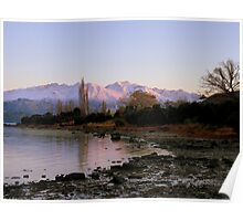 Winter Paradise... - Sunrise Wanaka - NZ Poster