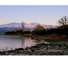 Winter Paradise... - Sunrise Wanaka - NZ Photographic Print