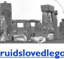 druidslovedlego Sticker