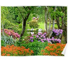 The Best Garden In NZ - Maple Glen - Southland Poster