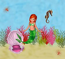The Little Red Headed Mermaid by Catherine Crimmins