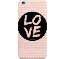 LOVE...mistakes iPhone Case/Skin