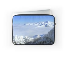 The Sun Does Shine On A Cloudy Day! - Mt Hutt - NZ Laptop Sleeve