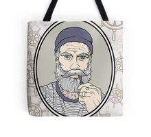 Salty Sea Dog Tote Bag