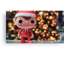 Elf on the Shelf Canvas Print