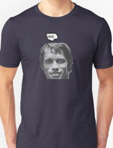 """""""yes"""" Unisex T-Shirt"""