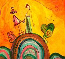 Beni and Oana's world  by Estera Lungu