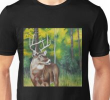 Mississippi Whitetail Buck in the Woods Unisex T-Shirt