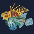 scorpio fish by popdesign