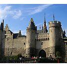 Antwerp - 't Steen by Gilberte