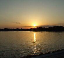Sunset # 3 at Lake Murray South Carolina by Ray1945