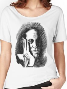 Pondering Man Women's Relaxed Fit T-Shirt