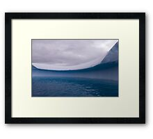 Cool Curvature Framed Print