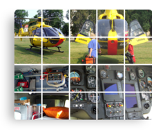 Helicopter Metal Print