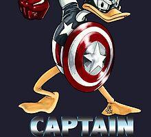 Captain AmeriDuck by JDoubleC