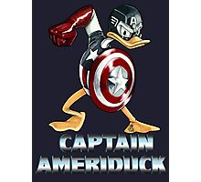 Captain AmeriDuck Photographic Print
