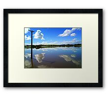 Specular Reflection - Gore - Southland Framed Print