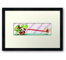 Yoshi! Framed Print